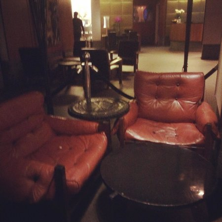 Gansevoort Meatpacking NYC: Comfy chairs