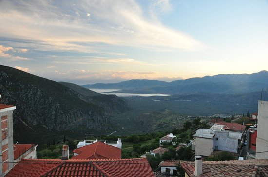 Fedriades Delphi Hotel: View from south balcony