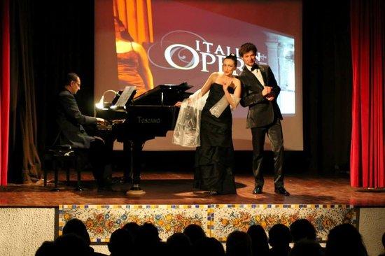 Italian Opera Taormina: grandi
