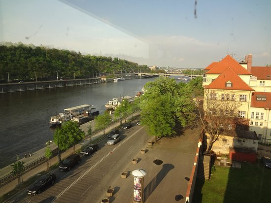 President Hotel Prague: view from the room
