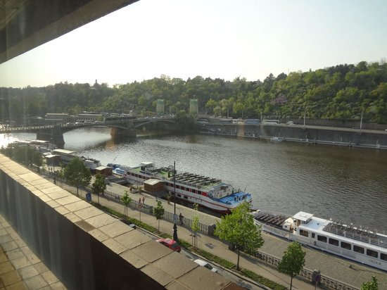 President Hotel Prague : view from the room