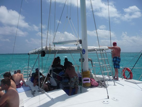 Stingray Sailing: Navegando