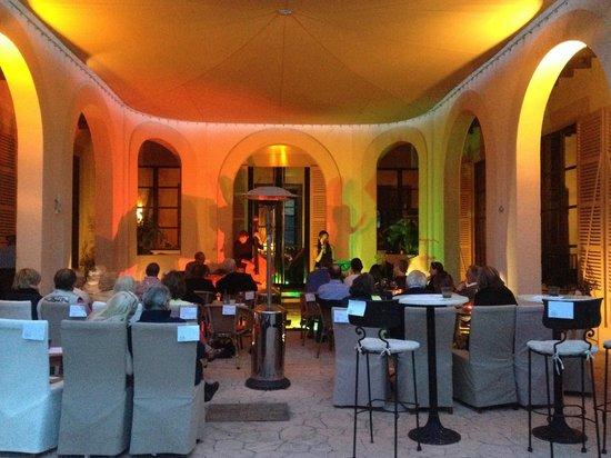 Hotel Sant Salvador: jazz concert