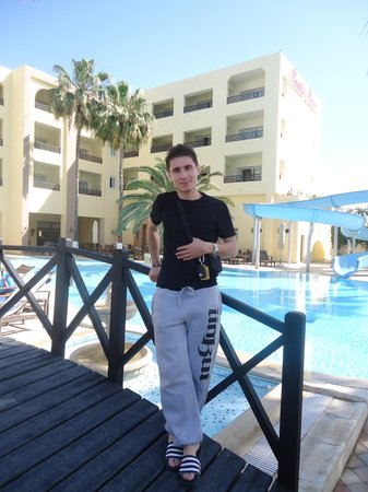Hotel Paradis Palace: prés de la piscine