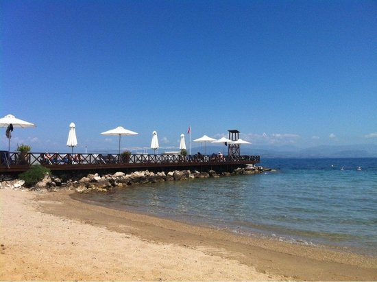 Kontokali Bay Resort and Spa: Plage du kontokaly bay