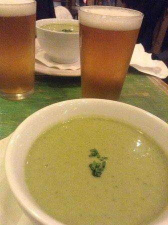 The Green Table : Potato/leak & Ithica IPAs
