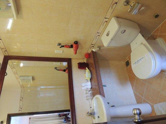 Holiday Diamond Hotel : Room 501 bathroom