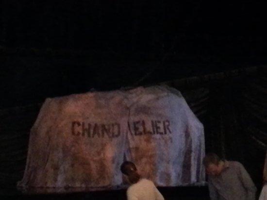 Phantom of The Opera London: chandelier