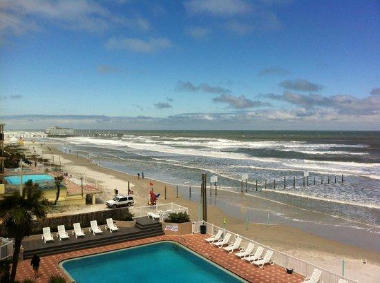 Boardwalk Inn and Suites: Ausblick vom Zimmer