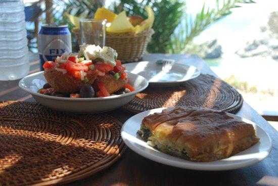 Papalagi Taverna : insalata e sformato
