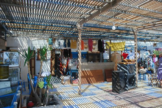 Papalagi Taverna : la zona shop