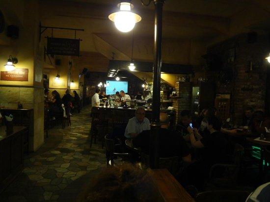 Zlaty Klas: restaurant interior