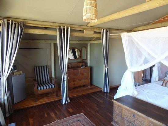 Kalahari Red Dunes Lodge: Living area