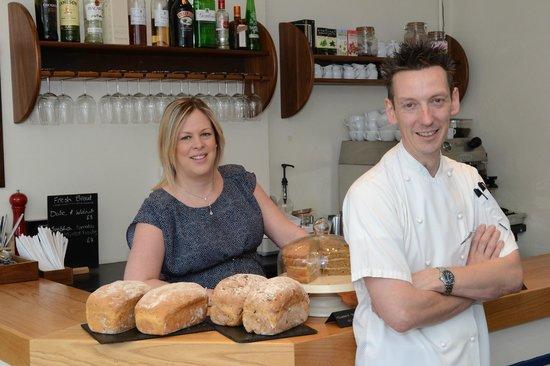 Keyworth Village Cafe and Bistro : Cassie & Alex Chilton: Owners