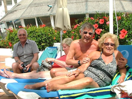 Sol Lanzarote: By the pool