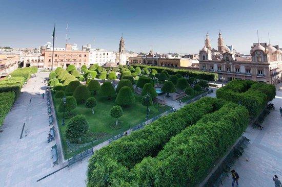 Ramada Plaza Leon: el jardín from my room