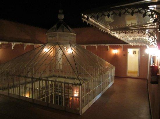 Casa Palacio Conde de la Corte: Terraza