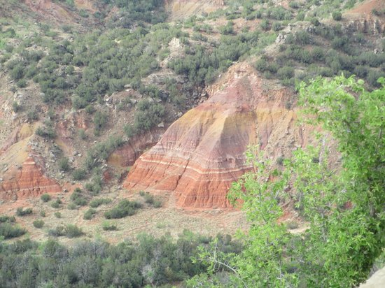 Palo Duro Canyon State Park : Another view from the top of the canyon