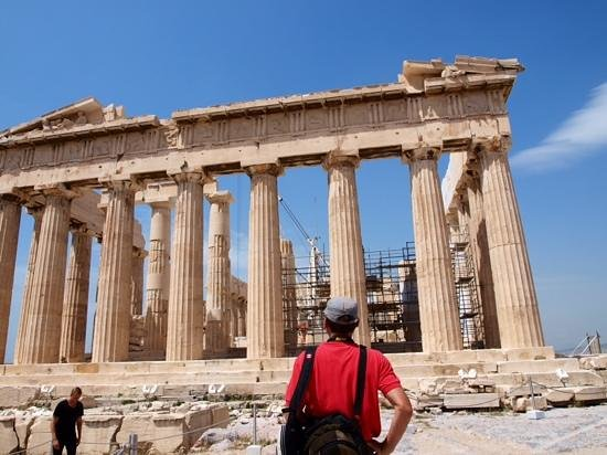 O&B Athens Boutique Hotel: ancient sites a short walk away