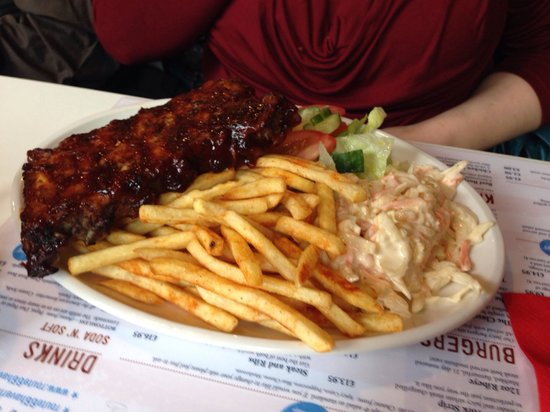 Route 66 Haverhill: Route 66 1/2 rack of ribs