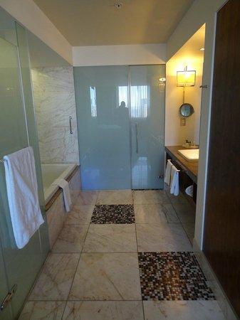 Hilton Windhoek: Half open Bath