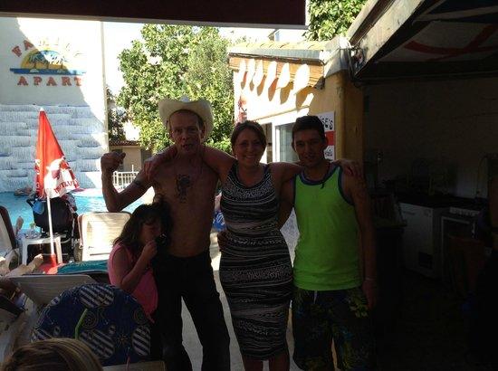 Family Apartments: Graham,,Stacey and Erkhan xxx