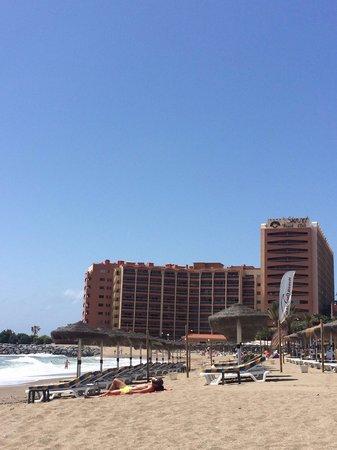 Sunset Beach Club: Hotel from beach