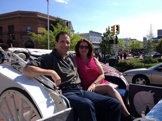 Cape May Carriage Company: Our first carriage ride.