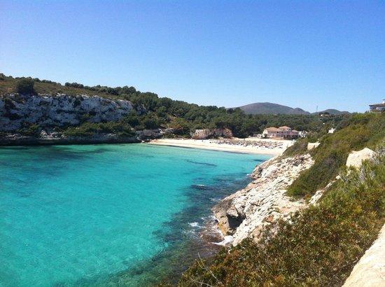 Blau Punta Reina Resort: Blick von der Anlage auf den Strand