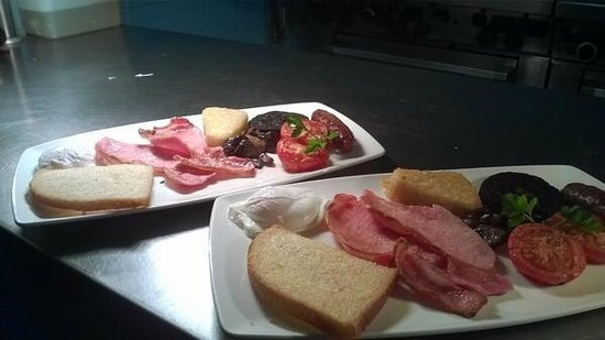Eype's Mouth Country Hotel: Full English Breakfast