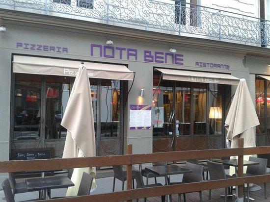 Nota Bene: Le restaurant