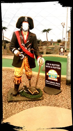 Adventure Golf Island: Take a pic and say Cheese!