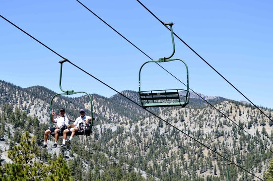 Lee Canyon Resort: Scenic Chair Rides