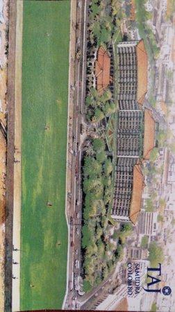 Taj Samudra Colombo : Postcard pic of the hotel