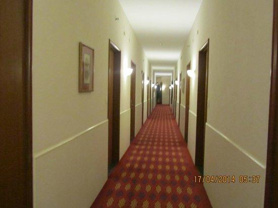 Trident, Agra: pasillos un poco viejos