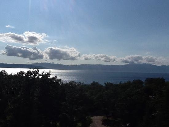 Hotel Beli Kamik : uitzicht vanuit onze kamer