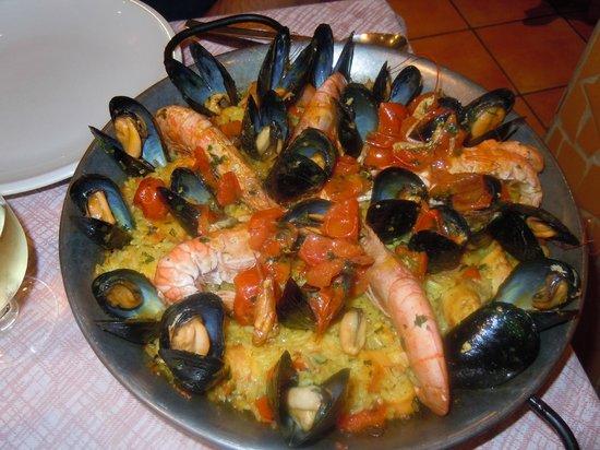 Il Chiodo Fisso: fantastica paella marinara!