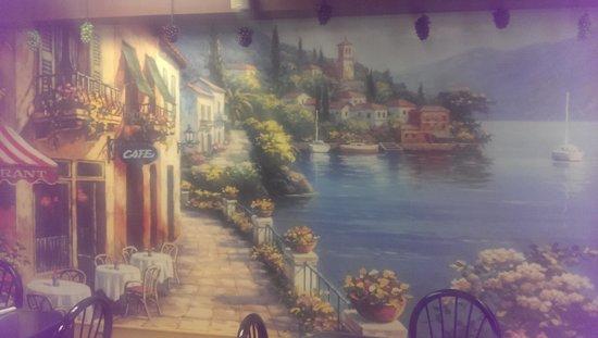 Bella Italia : nice mural