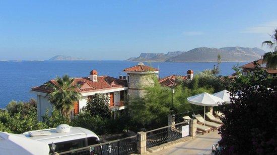 Amphora Hotel : du balcon
