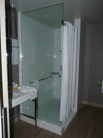 Kimpton Hotel Wilshire: Spacious shower