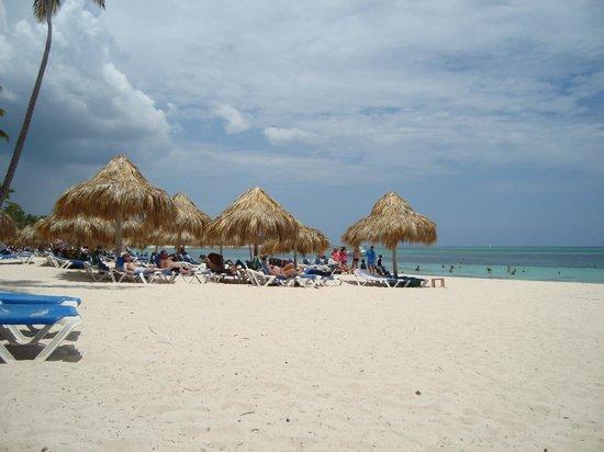 Meliá Caribe Tropical: PRAIA E PALAPAS