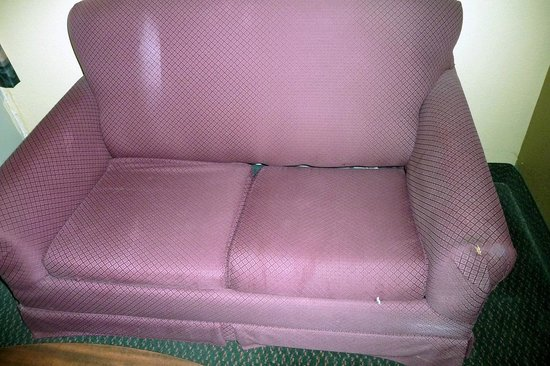 Americas Best Value Inn Franklin/Spring Hill: the couch in our room