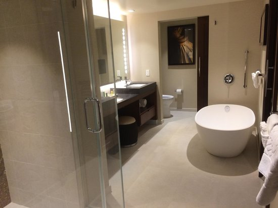 Hokulani Waikiki by Hilton Grand Vacations: Bathtub gets filled from the ceiling