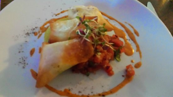 The Waterfront: Curried Monfish parcels