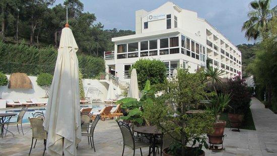 Marina Boutique Fethiye  Hotel : vue de l'hôtel