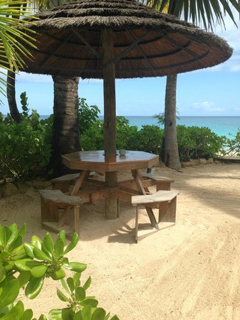 Galley Bay Resort: Our favorite place for lunch or afternoon snacks