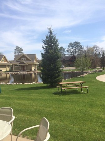 Kavanaugh's Sylvan Lake Resort: View of main pond from cabin