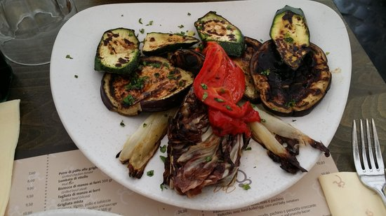 Maranega: Grilled vegetables