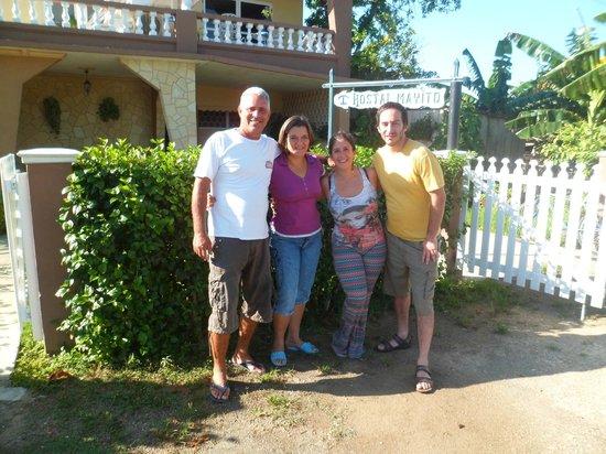 Hostal Mayito: Una hermosa familia. Gracias por todo!!