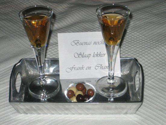 Casa Suenos Luxe Bed & Breakfast: slaapmutsje wat soms klaar stond echte verrassing!